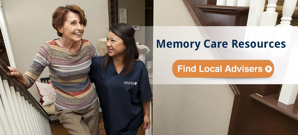 memory care photo senior caregiver